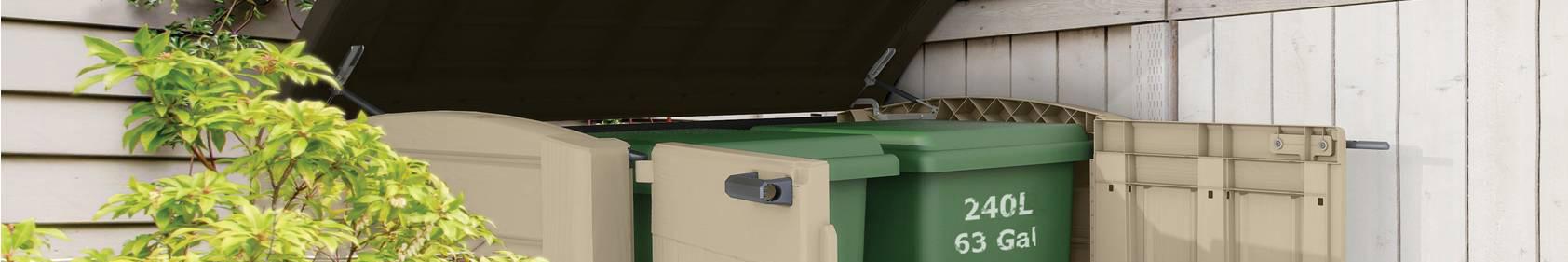 Portabidoni contenitori rifiuti