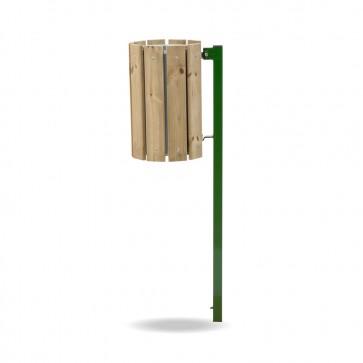 CESTINO ALAIN Ø 31 x 102 h. cm in legno impregnato in autoclave