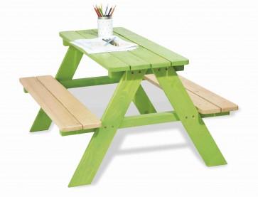 Tavolo per bambini NICKI verde by PINOLINO