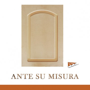 Antina in Mdf SU MISURA Bugnata ad Arco a Spigoli Raggiati