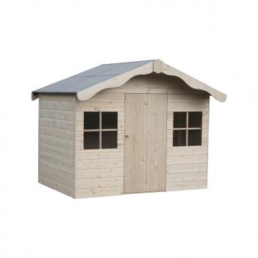 Casetta in legno  per bambini AURELIE 202 x 158 cm