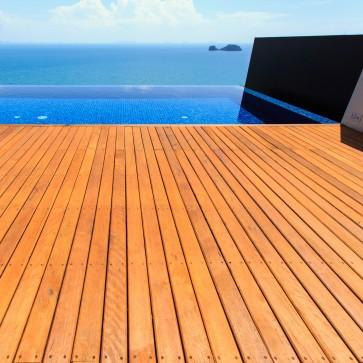 Pavimento da esterno legno IROKO