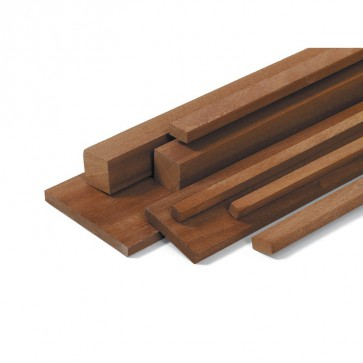 Listelli Piallati in legno Mogano naturale - CONFEZIONI RISPARMIO