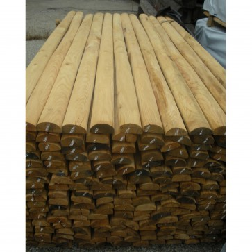 Mezzi Pali in legno CASTAGNO TORNITO intestati durata 25 anni