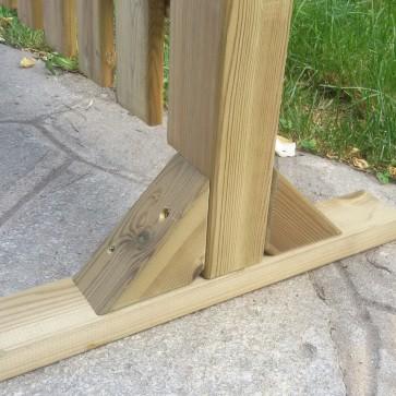 Piedistallo MAGIC EASEL in legno per steccati