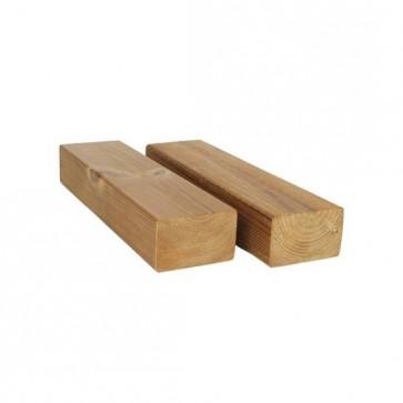 Listone sottostruttura per pavimento legno THERMOWOOD Decking 4,5x4,5x240 cm