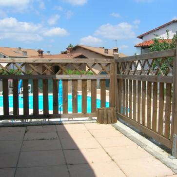 Steccato stisa in legno impregnato 180 x 90 h cm onlywood for Recinzioni in legno brico