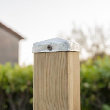 Onlywood TAPPO PIRAMIDE Copri Palo per Pali 7x7 cm