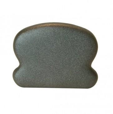 TERMINALE CORRIMANO 60 x 44 mm in metallo finitura antichizzata - CONFEZIONE 10 PEZZI