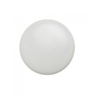 TERMINALE CORRIMANO Tondo Ø 50 mm mm in metallo verniciato Bianco - CONFEZIONE 10 PEZZI