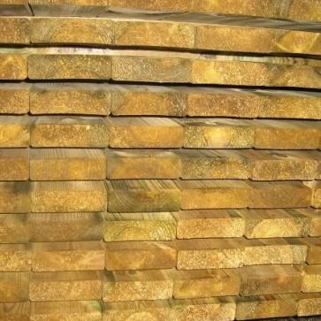 Travi in legno PINO certificato uso esterno - 11,6 x 3,8 x 300 cm