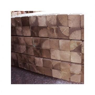 Travi in legno PINO certificato uso esterno - 7 x 7 x 400 cm