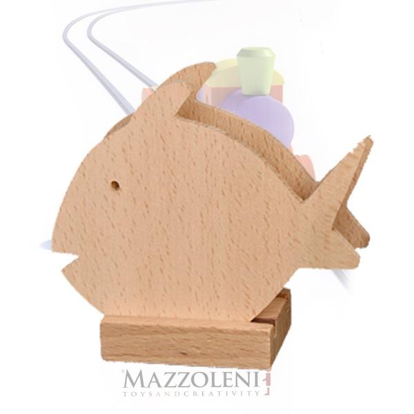 Porta tovaglioli pesce legno onlywood - Pesci comuni in tavola ...