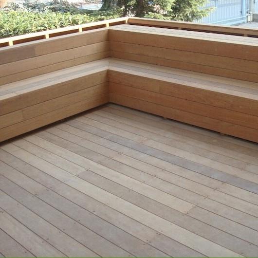 Pavimento da esterno legno angelim amargoso onlywood - Pavimento da giardino ...