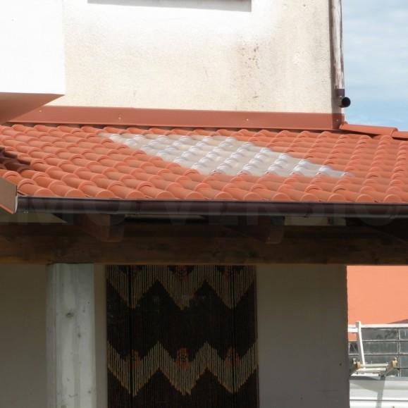 COPPI IN PVC trasparenti per copertura - Confezione 1,40 Mq. - Coperture per Pergole, Tettoie ...