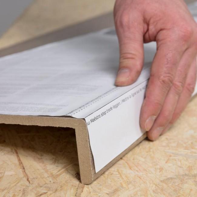Gradino lousiana oak rivestimento per scale in mdf fai - Scale in legno fai da te ...
