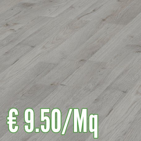 ROVERE GRIGIO 4952 pavimento laminato 7 mm. cf. 2,39 Mq.