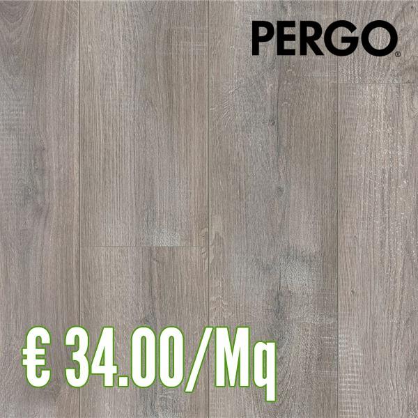 Pergo Natural Plank ROVERE GRIGIO SBIANCATO Pavimento Laminato ...