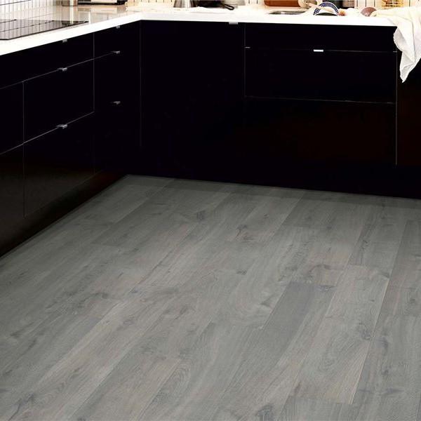 Rovere grigio urban anti umido ac5 by pergo cf - Laminati per cucina ...