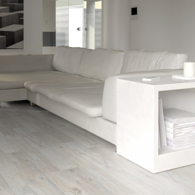 Rooms Rovere Sbiancato Elegant 0827 Pavimento Laminato Ac5
