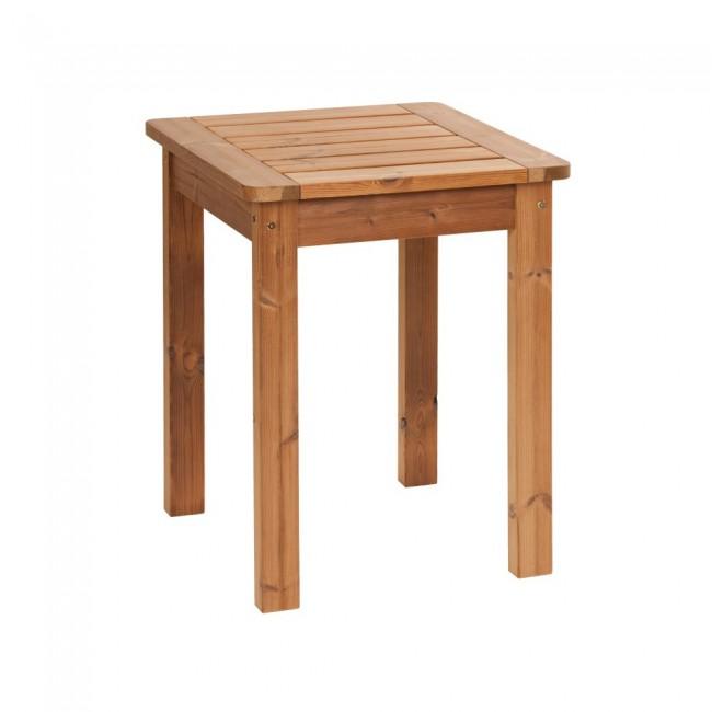 Tavolo In Legno Per Giardino.Tavolo Da Giardino In Legno Thermowood 60 X 60 X 76 Cm Durata 30