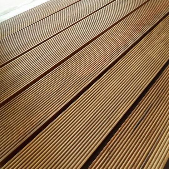 Pavimento da esterno legno teak ecologico fsc onlywood - Pavimento flottante esterno ...