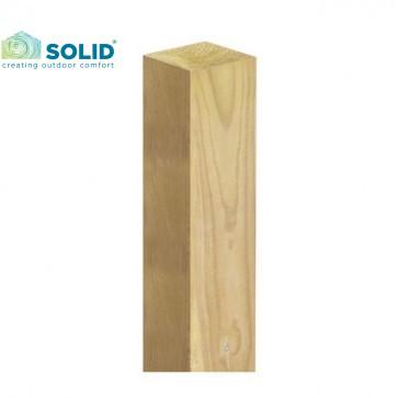 Montante in legno DOUGLAS 88 x 88 mm per cancello