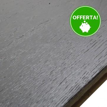 Parquet Prefinito ROVERE GRIGIO 190x1860x14 VERNICIATO SPAZZOLATO - Cf 2,812 Mq- FINE SERIE