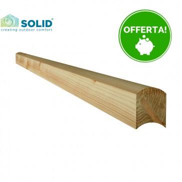 CORRIMANO DA ESTERNO in legno trattato in autoclave 120x90 mm