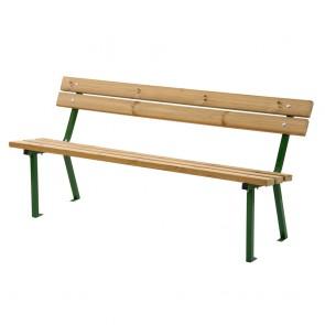 PANCA LOLA 160 x 55 x 75 h cm in legno impregnato in autoclave da esteno