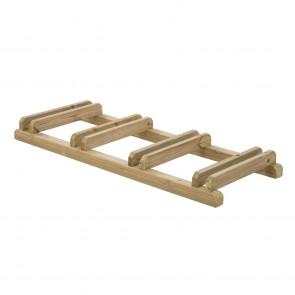 PORTABICI ECO 149 x 59 x 14 h. cm in legno impregnato in autoclave - 4 Postazioni
