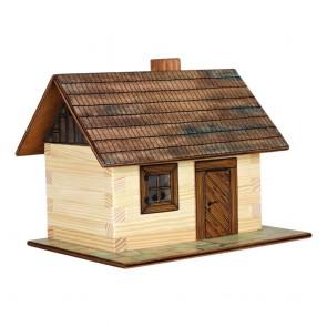 GIOCO COSTRUZIONE  per bambini in legno Cabine de Campagne - 64 Pezzi
