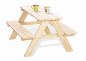 Tavolo per bambini NICKI naturale by PINOLINO