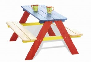 Tavolo per bambini NICKI tricolore by PINOLINO