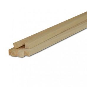 Listelli Piallati in legno Ayous SAMBA 15 X 15 X 2500 mm - Confezione 25 PEZZI