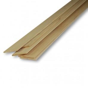 Listelli Piallati in legno Ayous SAMBA 10 X 30 X 2500 mm - Confezione 30 PEZZI