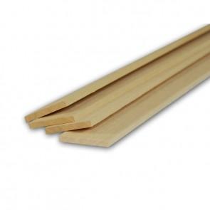 Listelli Piallati in legno Ayous SAMBA 10 X 60 X 2500 mm - Confezione 10 PEZZI