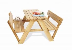 Tavolo per bambini NICKI schienali by PINOLINO