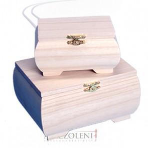 SET 2 Satole VERSAILLES legno