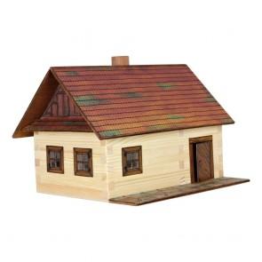 GIOCO COSTRUZIONE  per bambini in legno Casetta Contadina - 100 Pezzi