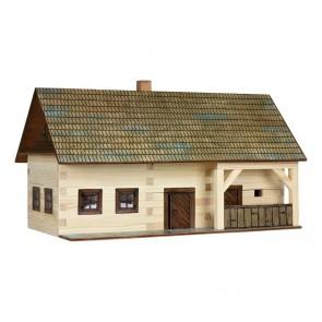 GIOCO COSTRUZIONE  per bambini in legno Maso Contadino - 174 Pezzi