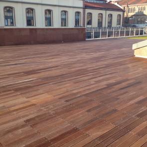 Pavimento da esterno legno ANGELIM AMARGOSO - Promo ALL INCLUSIVE - Posa con viti