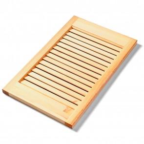 Antina PERSIANATA APERTA legno Pino naturale massello - 30 misure diverse