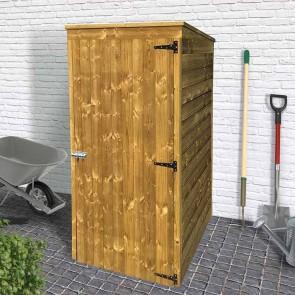 Armadi per esterno in legno onlywood for Armadio portascope in legno ikea