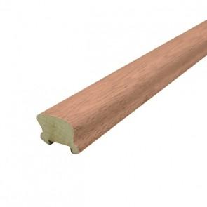 2 Corrimano Legno Ayous Ciliegio sagomato 6x4,4 cm Aste da 300 cm - CONFEZIONE DA 2 PEZZI