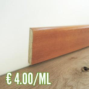 BATTISCOPA DOUSSIE in Legno impiallacciato 80x13 mm - Asta 2,50 metri