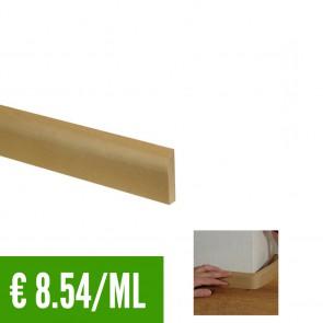 BATTISCOPA BEIGE FLESSIBILE in Pvc 10 x 44 mm asta 2,40 m