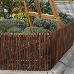 CANCELLO BARCELONA  in legno di impregnato noce 100 x 80 cm