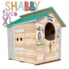 Casetta in legno da giardino per bambini XL Fantasia SHABBY