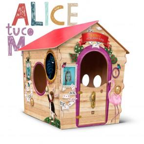 Casetta in legno per bambini M Fantasia ALICE